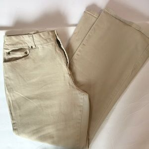 🛍TheBest4Less🛍 Coldwater Creek Tan Jeans